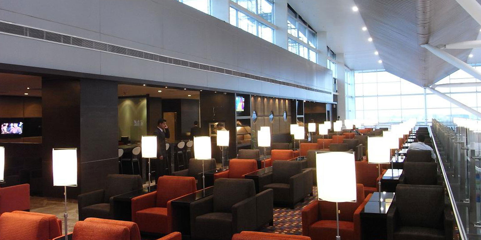 Airport lounge adds wings to your travel experience