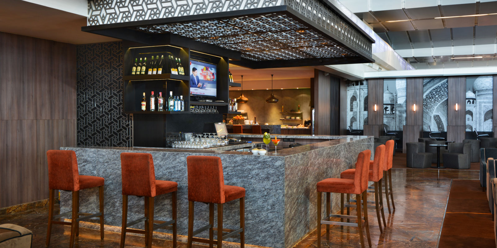 Plaza Premium Lounge Plaza Premium Lounge Domestic Departures Terminal 3