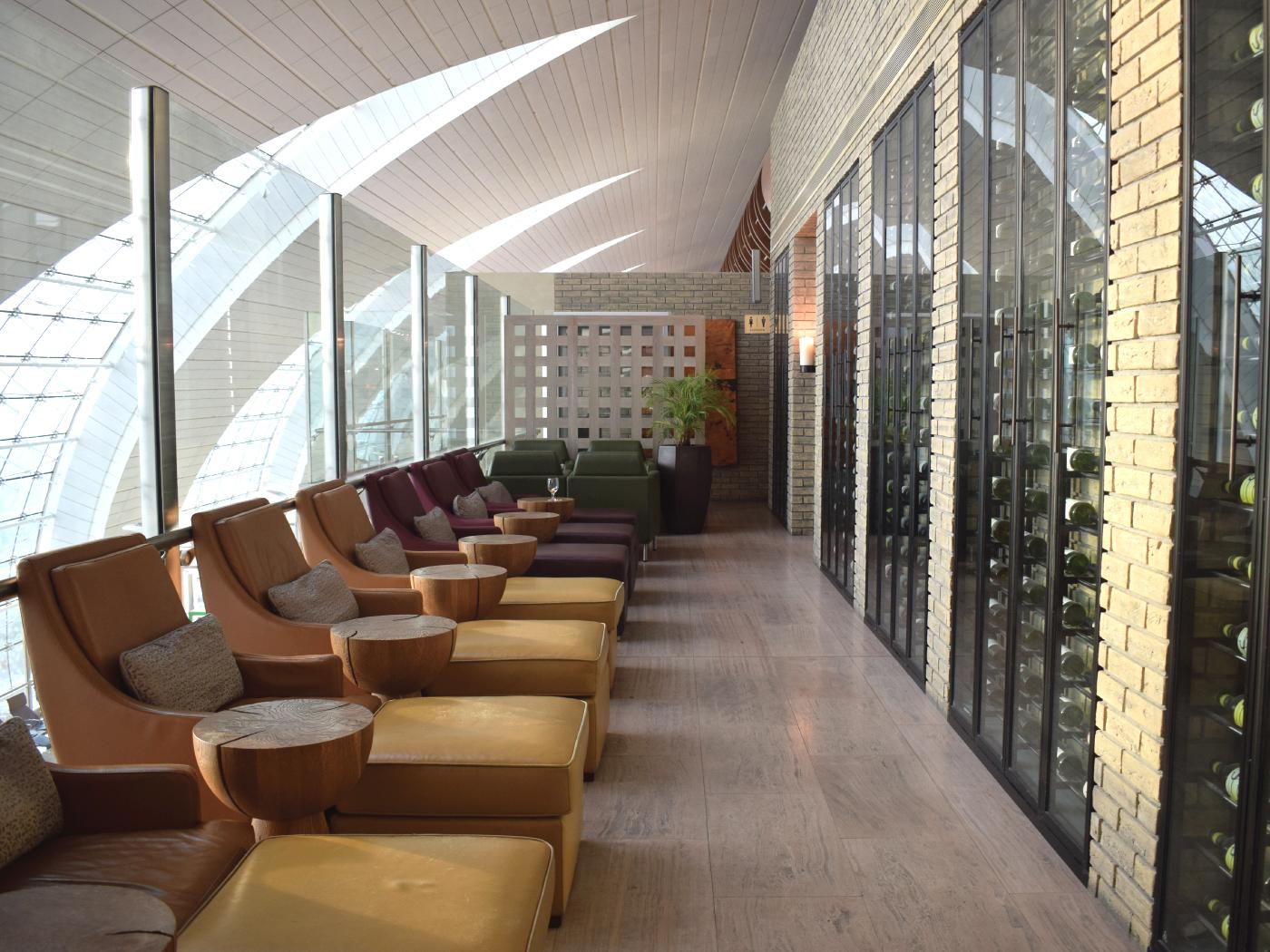 Plaza Premium Lounge | Ahlan Business Class Lounge